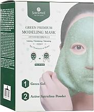Voňavky, Parfémy, kozmetika Maska na tvár - Shangpree Green Premium Modeling Mask