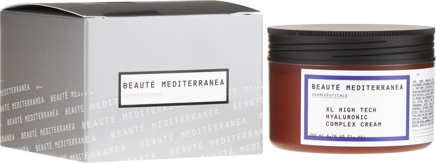 Krém na tvár s kyselinou hyalurónovou - Beaute Mediterranea High Tech Hyaluronic Complex Cream