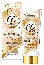 Voňavky, Parfémy, kozmetika CC krém-fluid na telo - Bielenda Magic CC 10in1 Body Correction Cream Waterproof Tanning Effect SPF6