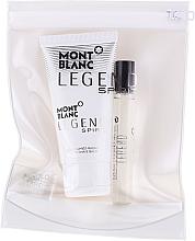 Voňavky, Parfémy, kozmetika Montblanc Legend Spirit - Sada (edt/mini/7.5ml + asb/50ml)