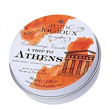Voňavky, Parfémy, kozmetika Masážna sviečka s vôňou pižma a pačuli - Petits JouJoux Mini A Trip To Athens