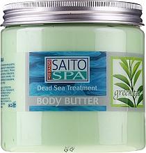Voňavky, Parfémy, kozmetika Maslo na telo s extraktom zo zeleného čaju - Saito Spa Body Butter