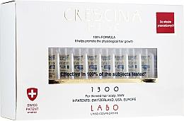 Voňavky, Parfémy, kozmetika Lotionový koncentrát na obnovenie rastu vlasov u mužov - Labo Crescina HFSC Re-Growth 1300