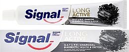 Voňavky, Parfémy, kozmetika Zubná pasta - Signal Long Active Nature Elements Charcoal