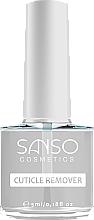 Voňavky, Parfémy, kozmetika Odstraňovač nechtovej kožičky - Sanso Cosmetics Cuticle Remover