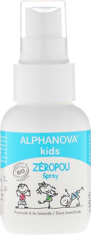 Sprej na vlasy proti vši pre deti - Alphanova Kids Spray