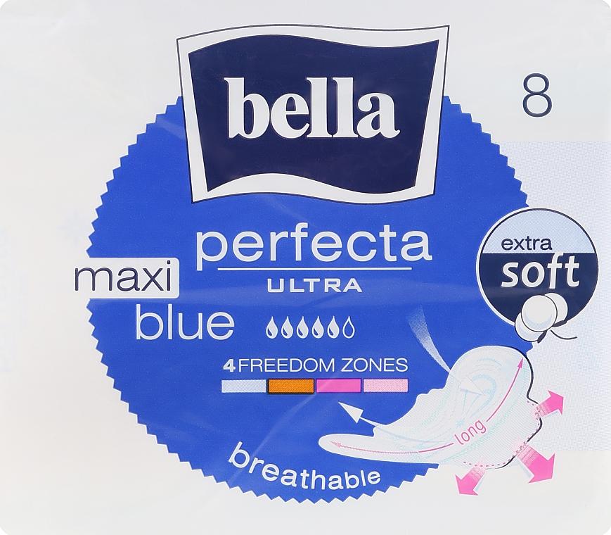 Vložky Perfecta Blue Maxi Soft Ultra, 8 ks - Bella