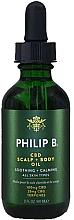 Voňavky, Parfémy, kozmetika Olej na pokožku hlavy - Philip B CBD Scalp + Body Oil