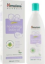 """Voňavky, Parfémy, kozmetika Detský masážny olej """"Oliva-zimná čerešňa"""" - Himalaya Herbals Baby Massage Oil"""
