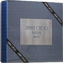 Voňavky, Parfémy, kozmetika Jimmy Choo Man Blue - Sada (edt/100ml + ash/balm/100ml + edt/7.5ml)
