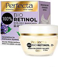 Voňavky, Parfémy, kozmetika Spevňujúci krém proti vráskam 70+ - Perfecta Bio Retinol 70+ Anti-Wrinkle Day And Night Cream-Firming