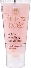Voňavky, Parfémy, kozmetika Bunková tonizačná gélová maska s kmeňovými bunkami (tuba) - Yellow Rose Cellular Revitalizing Gel Mask