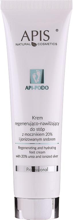 Regeneračný a zvlhčujúci krém na nohy - Apis Professional Api-Podo 20%