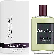 Voňavky, Parfémy, kozmetika Atelier Cologne Vetiver Fatal - Kolínska voda