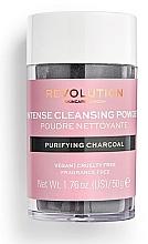 Voňavky, Parfémy, kozmetika Čistiaci púder na tvár - Revolution Skincare Purifying Charcoal Cleansing Powder