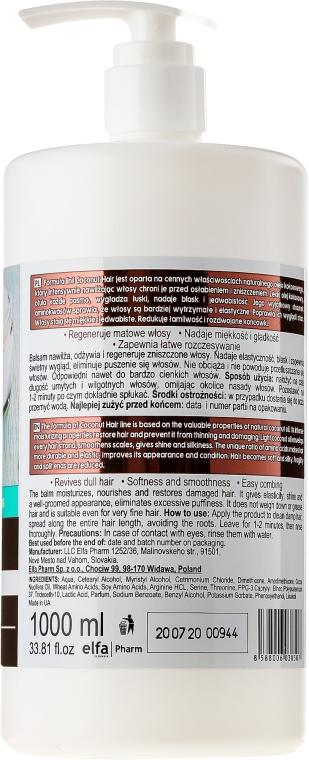 """Balzam na vlasy """"Lesk a hodvábnosť"""" - Dr. Sante Coconut Hair — Obrázky N4"""