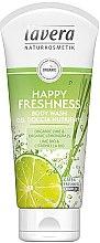 """Voňavky, Parfémy, kozmetika Sprchový gél """"Limetka a citrónová tráva"""" - Lavera Happy Freshness Body Wash Lime&Lemongrass"""