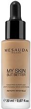 Voňavky, Parfémy, kozmetika Tónový fluid s účinkom holej kože - Mesauda Milano My Skin But Better