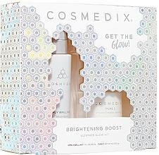Voňavky, Parfémy, kozmetika Sada - Cosmedix Brightening Boost Ultimate Glow Kit (f/ser/30ml + f/powder/6g)
