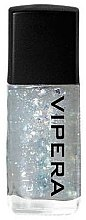 Voňavky, Parfémy, kozmetika Vrchný náter na nechty s časticami - Vipera Top Coat Metal Effect