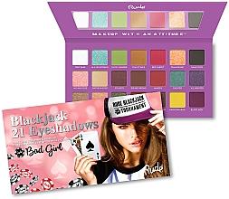 Voňavky, Parfémy, kozmetika Paleta očných tieňov - Rude Blackjack Eyeshadow Palette