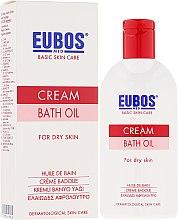 Voňavky, Parfémy, kozmetika Kúpeľový olej - Eubos Med Basic Skin Care Cream Bath Oil For Dry Skin