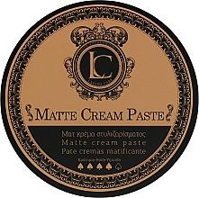 Voňavky, Parfémy, kozmetika Pánska matná stylingová pasta pre silnú fixáciu - Lavish Care Matte Cream Paste