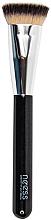 Voňavky, Parfémy, kozmetika Štetec pre tónalné prostriedky, 4209 - Neess Flat Top