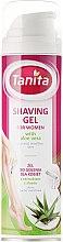 Voňavky, Parfémy, kozmetika Gél na holenie s aloe extraktom - Tanita Body Care Shave Gel For Woman