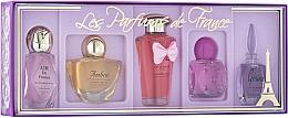 Voňavky, Parfémy, kozmetika Charrier Parfums Parfums De France - Sada (edp/5.2ml+edp/5.2ml+edp/5.2ml+edp/8ml+edp/4.9ml)