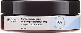 Voňavky, Parfémy, kozmetika Normalizačný krém s čiernym kmínom - Melo