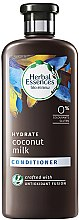 Voňavky, Parfémy, kozmetika Kondicionér na vlasy - Herbal Essences Coconut Milk Conditioner