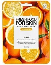 Voňavky, Parfémy, kozmetika Textilná maska na tvár Pomaranč - Superfood For Skin Facial Sheet Mask Orange Refreshing