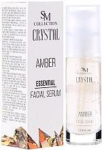 Voňavky, Parfémy, kozmetika Prírodné jantárové gélové sérum - Hristina Cosmetics SM Crystal Amber Facial Serum