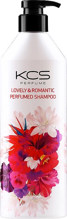 Parfumovaný šampón na poškodené vlasy - KCS Lovely & Romantic Perfumed Shampoo