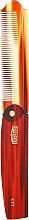 Voňavky, Parfémy, kozmetika Skladací hrebeň - Uppercut Deluxe CT7 Tortoise Flip Comb