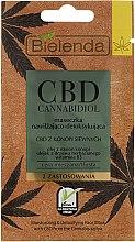 Voňavky, Parfémy, kozmetika Maska pre mastnú a kombinovanú pleť - Bielenda CBD Cannabidiol Moisturizing & Detoxifying Mask