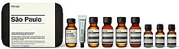 Voňavky, Parfémy, kozmetika Sada - Aesop Sao Paulo Travel Essentials Kit (shm/50ml + cond/50ml + sh/gel/50ml + balm/50ml + m/wash/50ml +t/paste/10ml + toner/15ml + serum/15ml)
