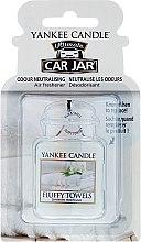 Voňavky, Parfémy, kozmetika Arómatizator do auta - Yankee Candle Car Jar Ultimate Fluffy Towels
