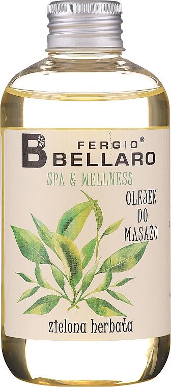 "Masážny olej ""Zelený čaj"" - Fergio Bellaro Massage Oil Green Tea"