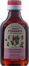 Voňavky, Parfémy, kozmetika Lopuchový olej s červenou paprikou na rast vlasov - Green Pharmacy
