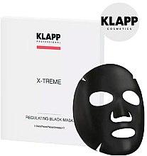 Voňavky, Parfémy, kozmetika Regulujúca čierna maska - Klapp X-Treme Regulating Black Mask