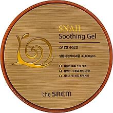 Voňavky, Parfémy, kozmetika Upokojujúci gél so slimačím extraktom - The Saem Snail Soothing Gel