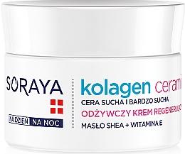 Voňavky, Parfémy, kozmetika Výživný krém na noc - Soraya Kolagen i Ceramid Nourishing Cream