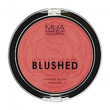 Voňavky, Parfémy, kozmetika Lícenka - MUA Blushed Shimmer Blush Powder