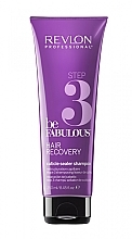 Voňavky, Parfémy, kozmetika Čistiaci šampón, otvára kutikulu, krok 3 - Revlon Professional Be Fabulous Hair Recovery Cuticle Sealer Shampoo