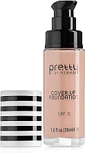 Voňavky, Parfémy, kozmetika Make-up - Flormar Pretty Cover Up Foundation