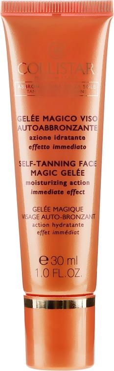 Opaľovací gél - Collistar Self Tanning Face Magic Gelee — Obrázky N2
