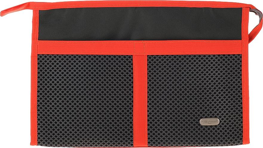 Kozmetická taška 94682, čierno-oranžová - Top Choice Net — Obrázky N1