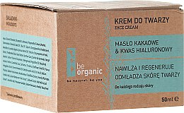 """Voňavky, Parfémy, kozmetika Krém na tvár """"Hydratačný"""" - Be Organic Moisturising Face Cream"""